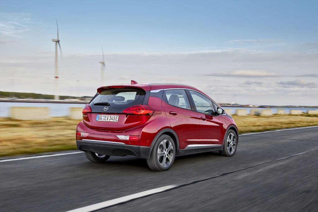 Auch das Schwestermodell Opel Ampera-e ist von dem Rückruf betroffen.