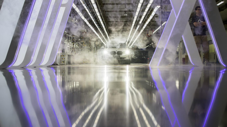 Produktionsstart des BMW iX3 im Werk Shenyang