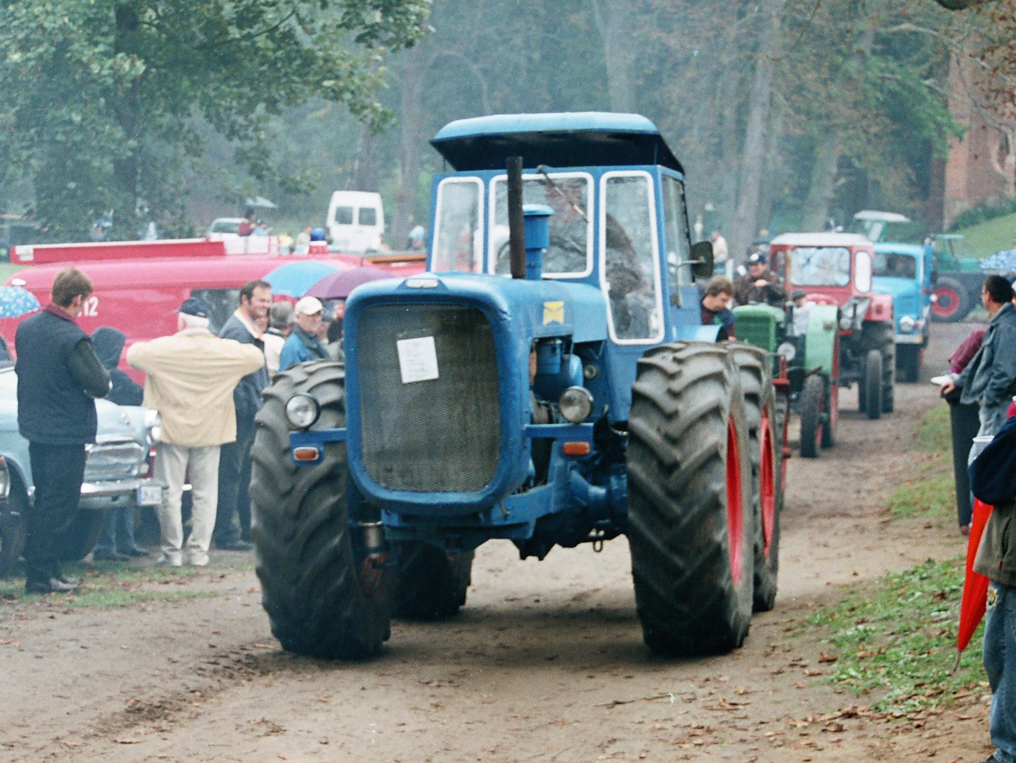Bauernaktion - Nicht immer friedlich