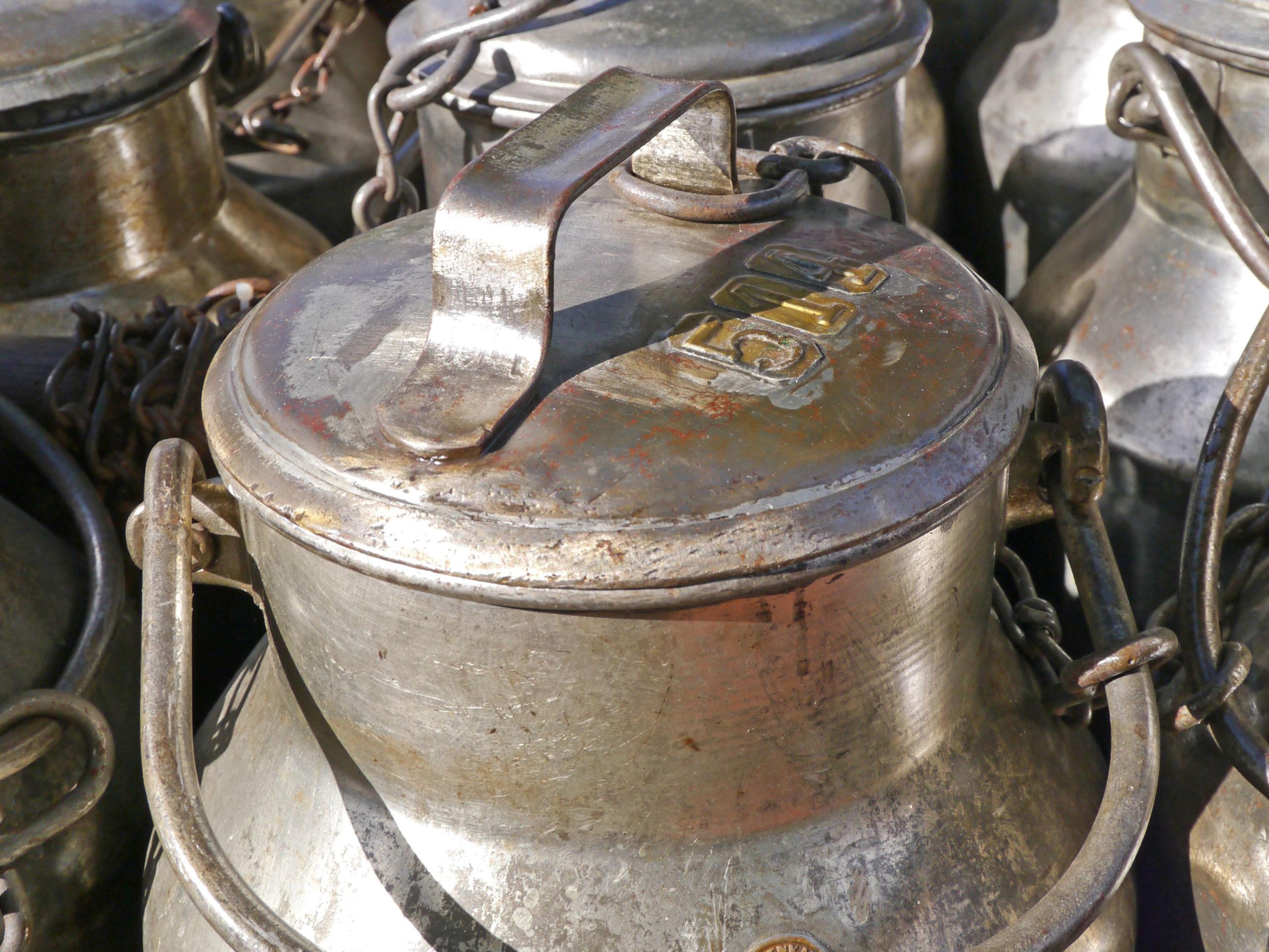 Milchkannen - Zankapfel Butterpreis