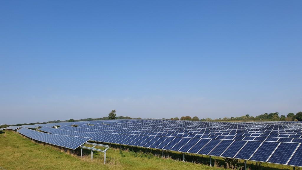 Solarpark - In Zukunft nicht nur Landschaftsfresser