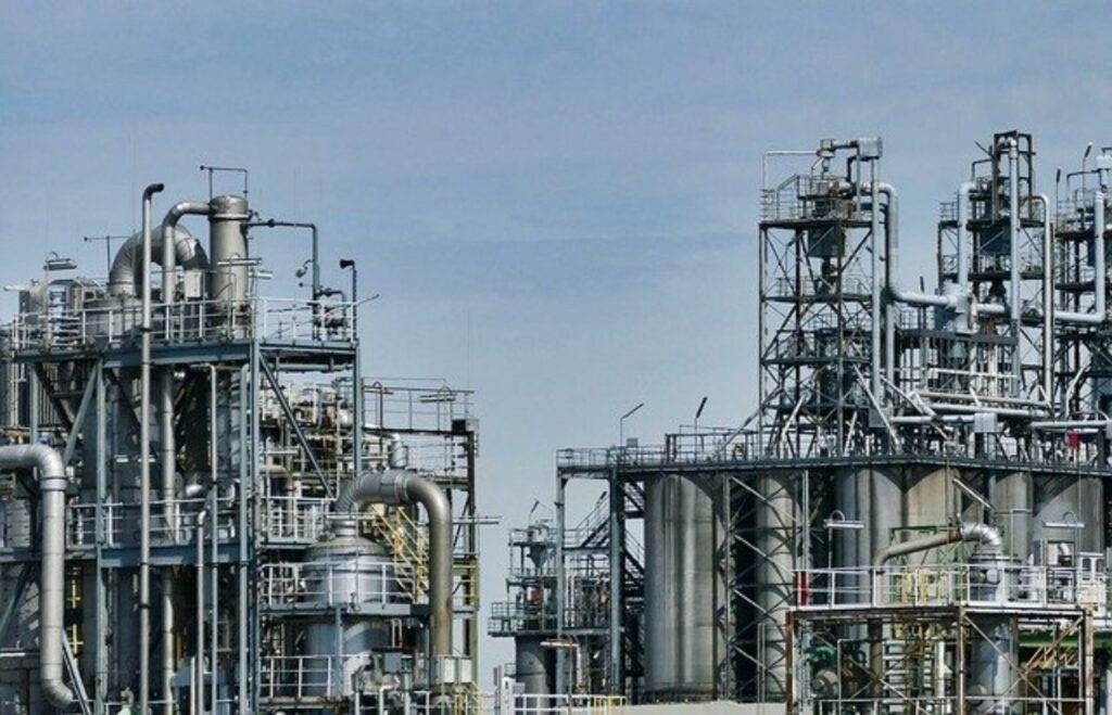 Chemische Produktionsanlage