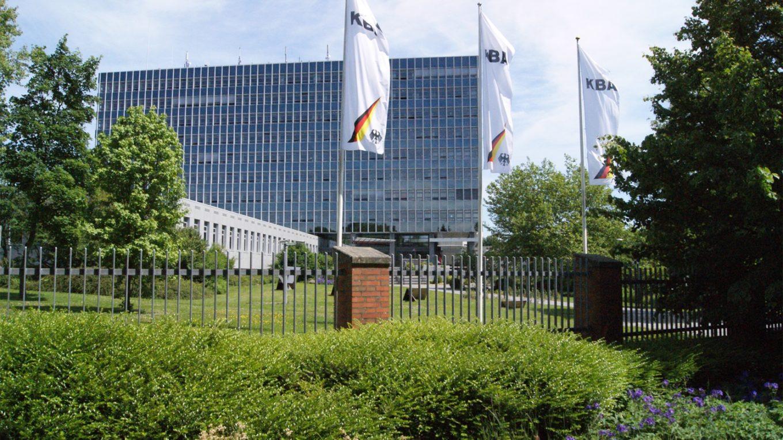 Zentrale des Kraftfahrbundesamts in Flensburg