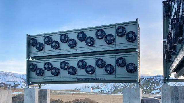 CO2-Fänger von Climeworks