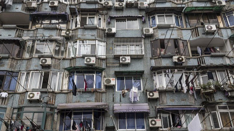 Klimaanlage an jedem Balkon