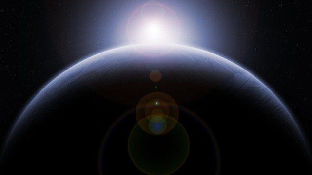 Erde mit Sonne Foto: LoganArt on Pixabay