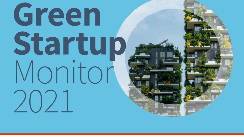 Cover des Green-Startup-Monitors 2021