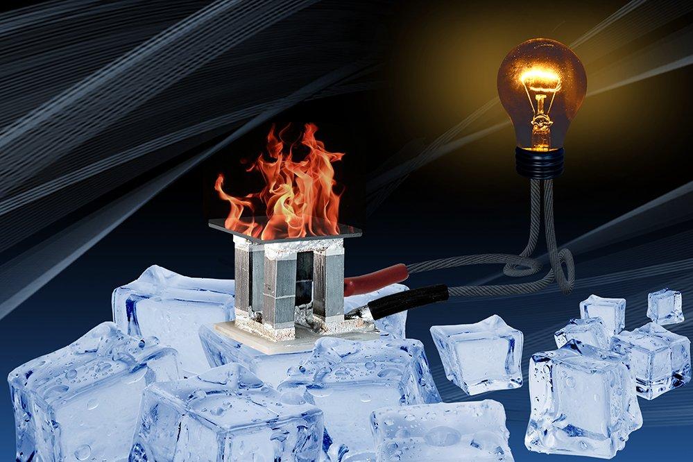 Symbolbild einer thermoelektrischen Generators