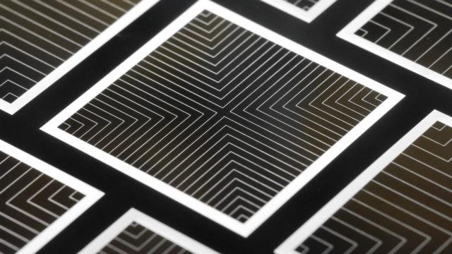 Baustruktur der neuartigen ISE-Solarzelle