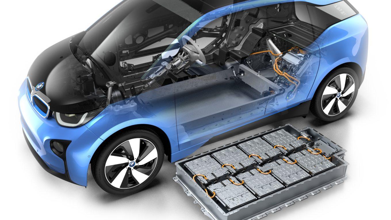 Batteriespeicher eines Elektroautos