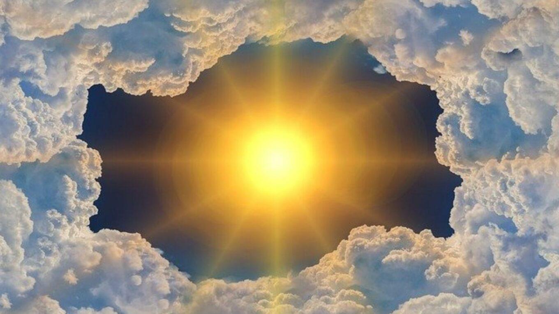 Sonne knallt vom Himmel