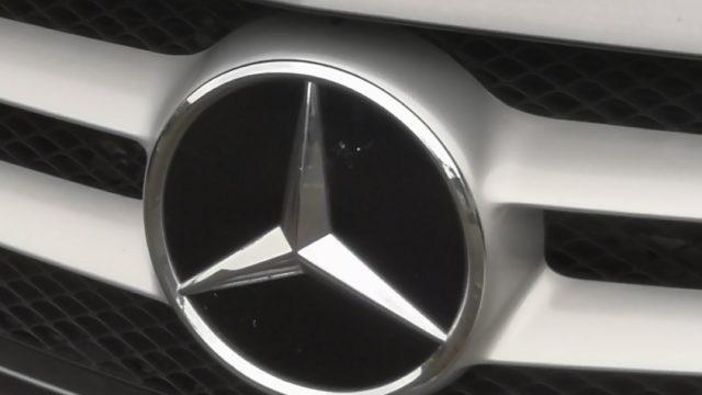 Kühler mit Mercedes-Stern