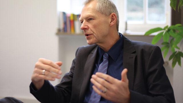 Manfred Fischedick, Chef der Wuppertal-Instituts, im Greenspotting-Interview