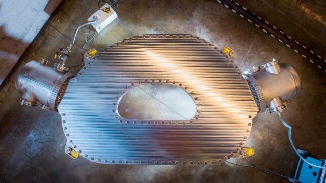 Prototyp des Supermagneten